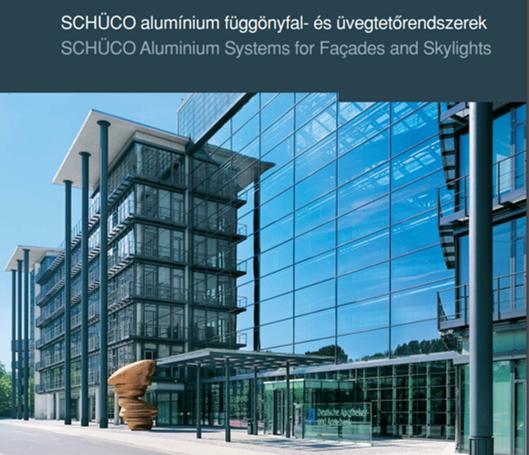 Schüco alumínium függönyfal rendszerek