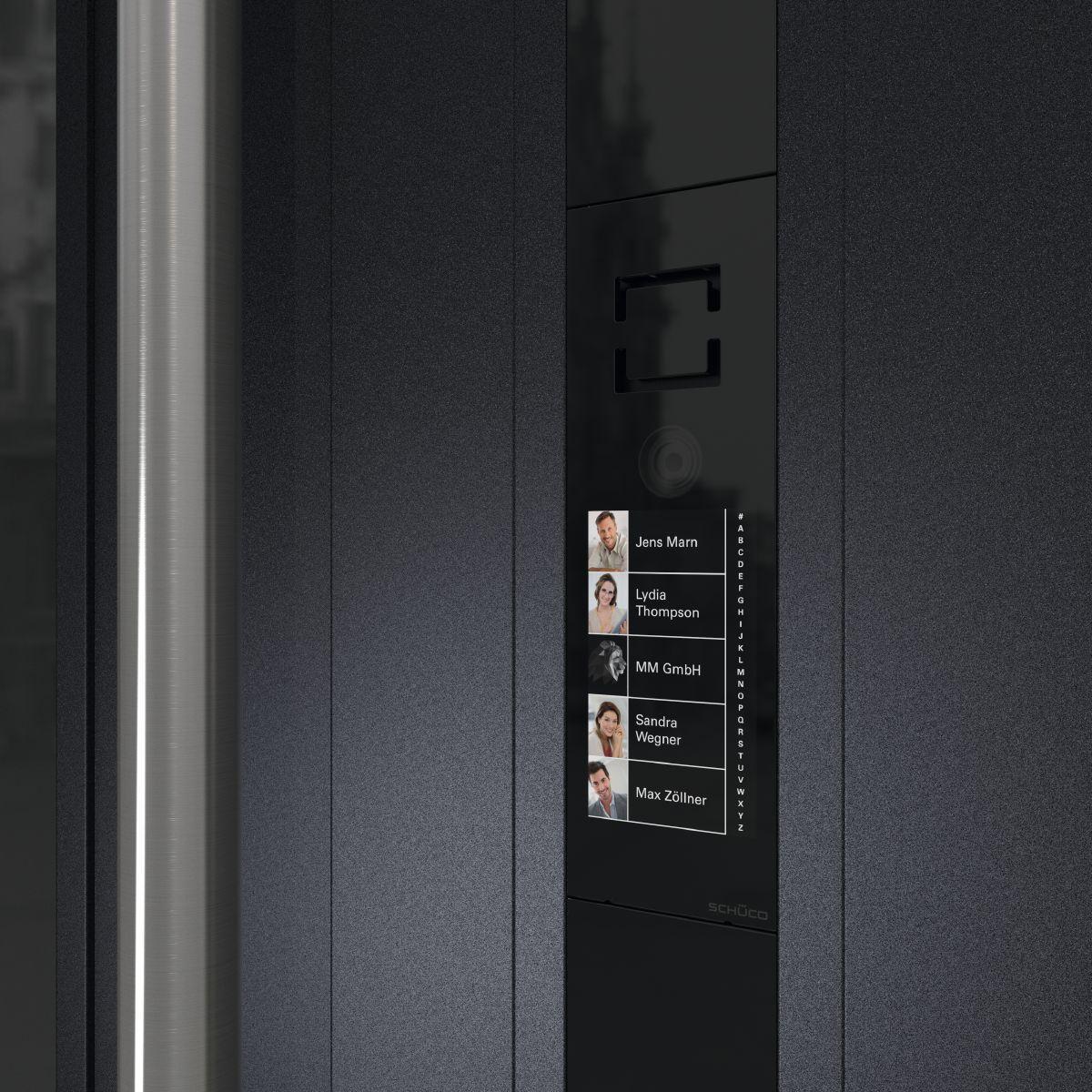 Schüco DCS cu display tactil (Touch Display)